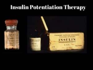 what is insulin potentiation therapy