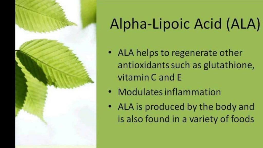 Benefits of Alpha Lipoic Acid