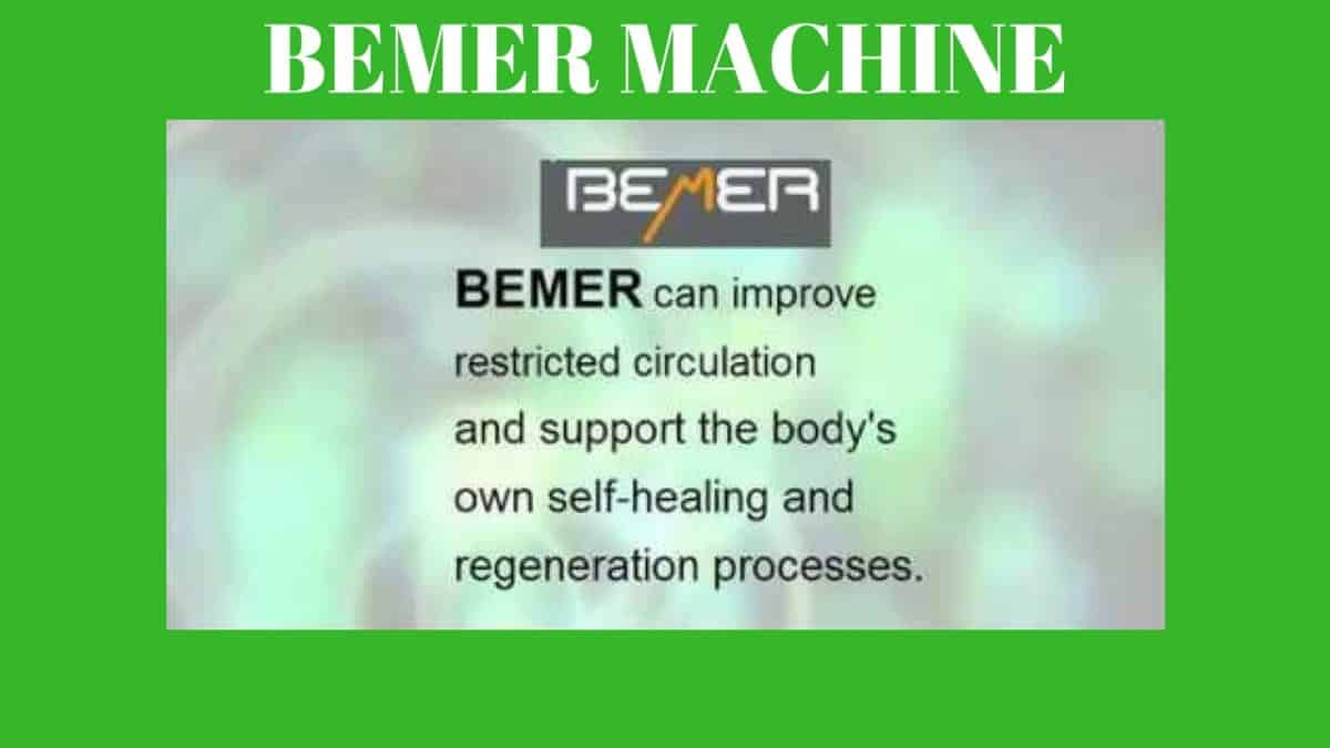What Is A Bemer Machine And What Does It Do