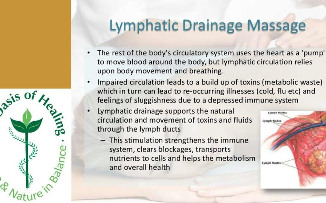 Lymphatic Drainage Massage Benefits