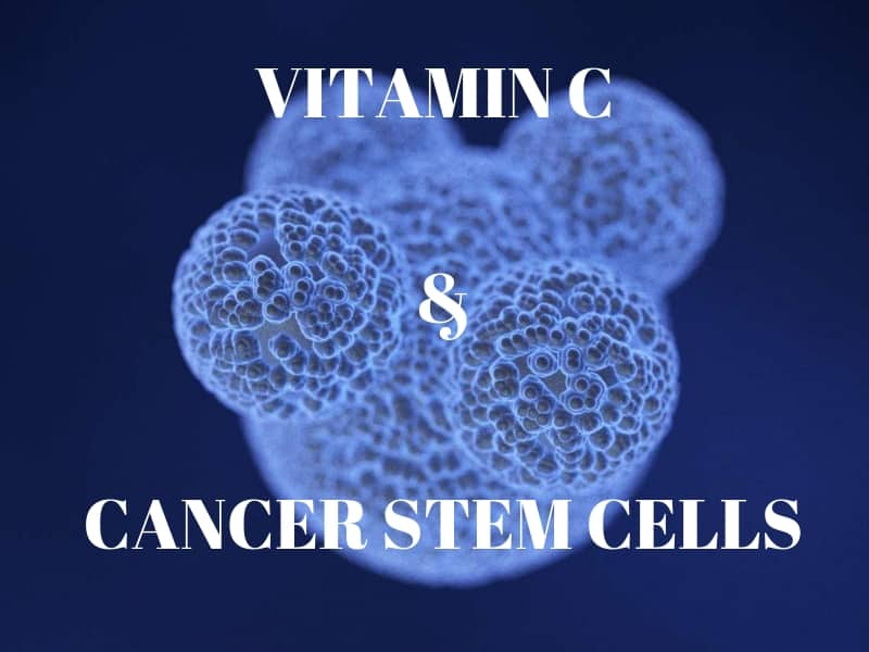Vitamin C And Cancer Stem Cells