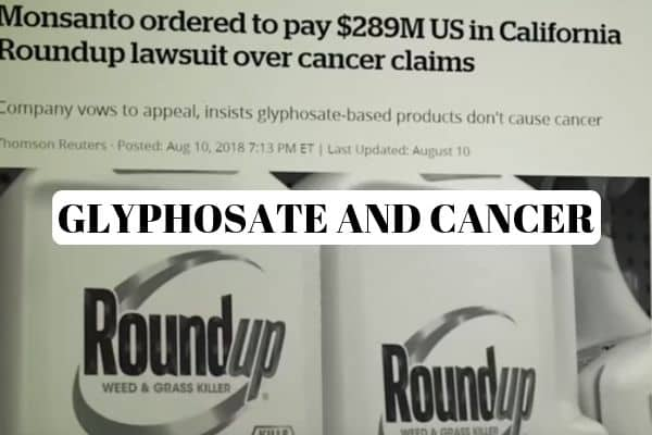 Glyphosate Cancer Risk